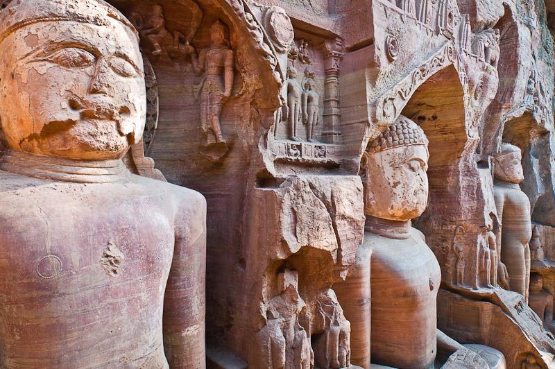 Jain grotten, Gwalior
