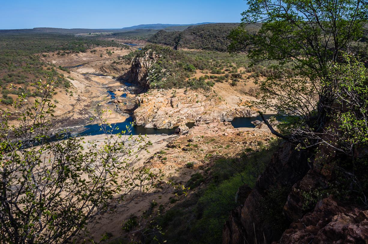 Samenvloeiing van de Letaba- en Olifantsrivier